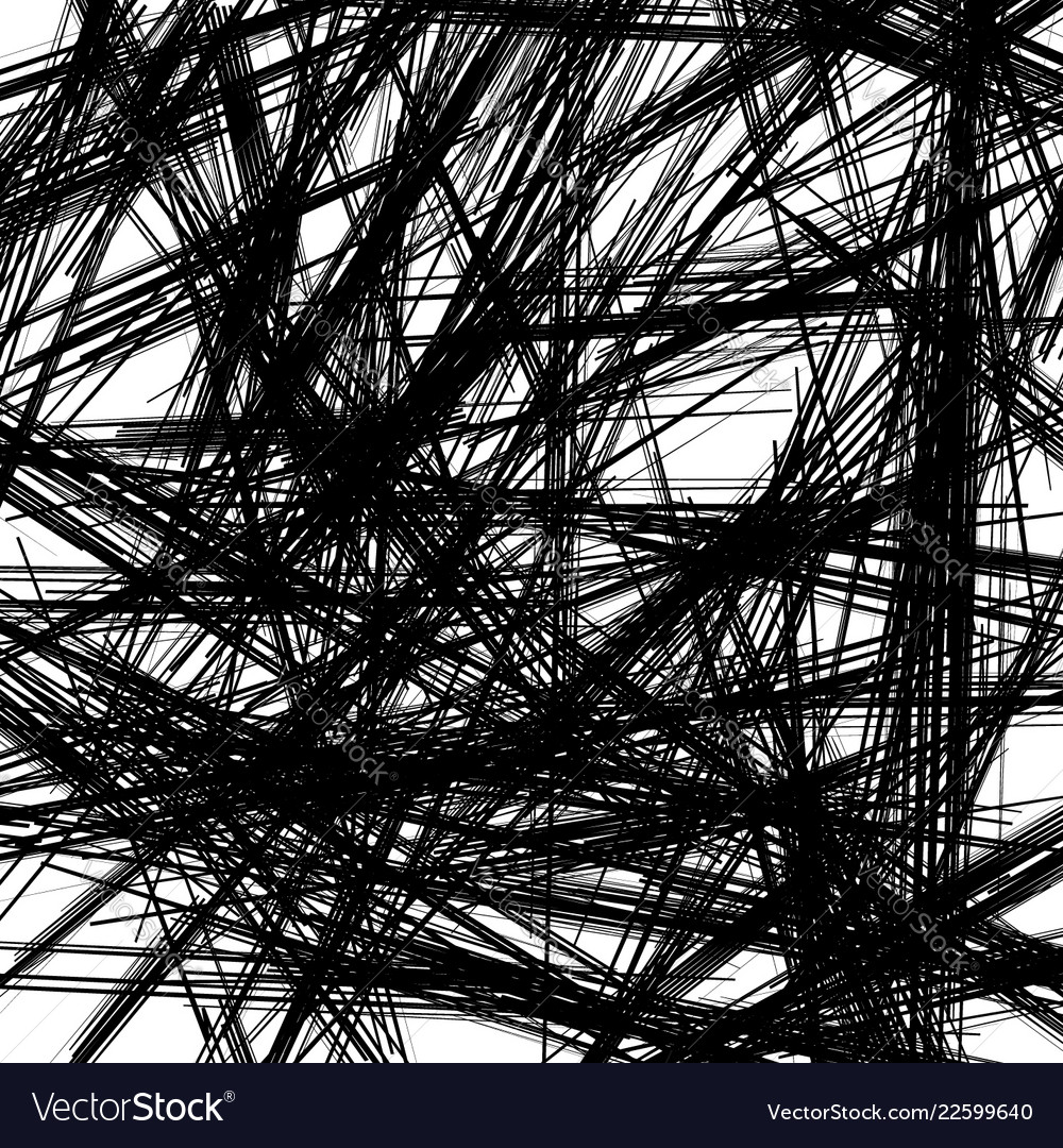 Chaotic texture with zigzag lines rough random