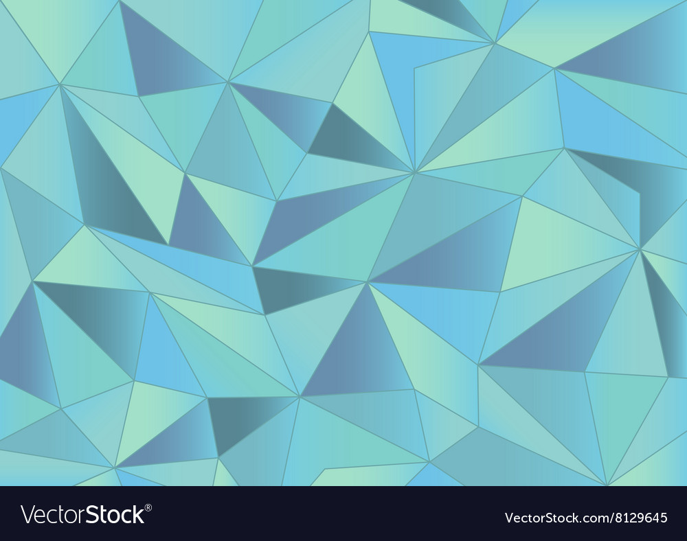 Abstract Light Blue Triangles 3d Background