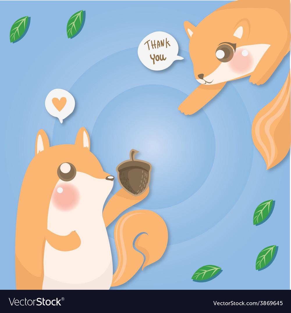 Couple squirrel
