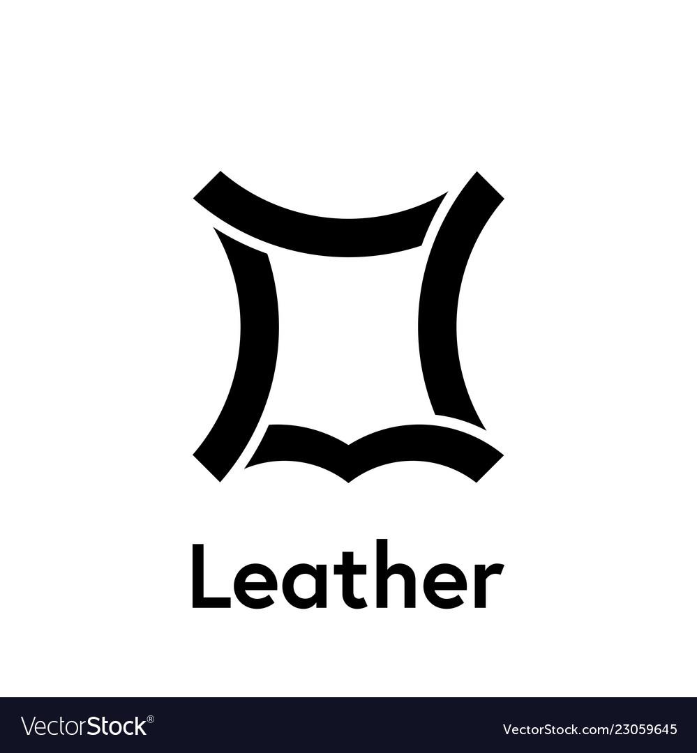 Icon Image Vector Logo Symbol Leather Recycled BtdshQrCxo