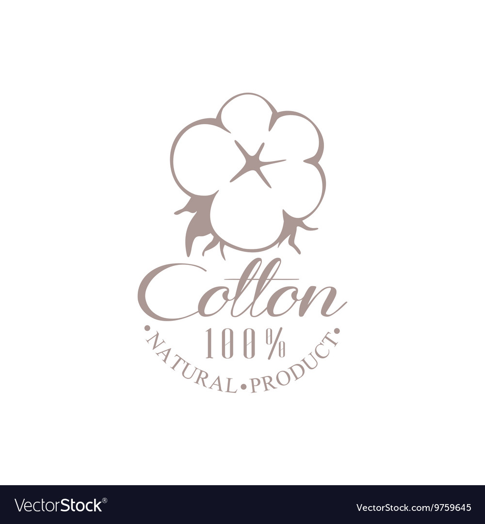 Quality Cotton Product Logo Design