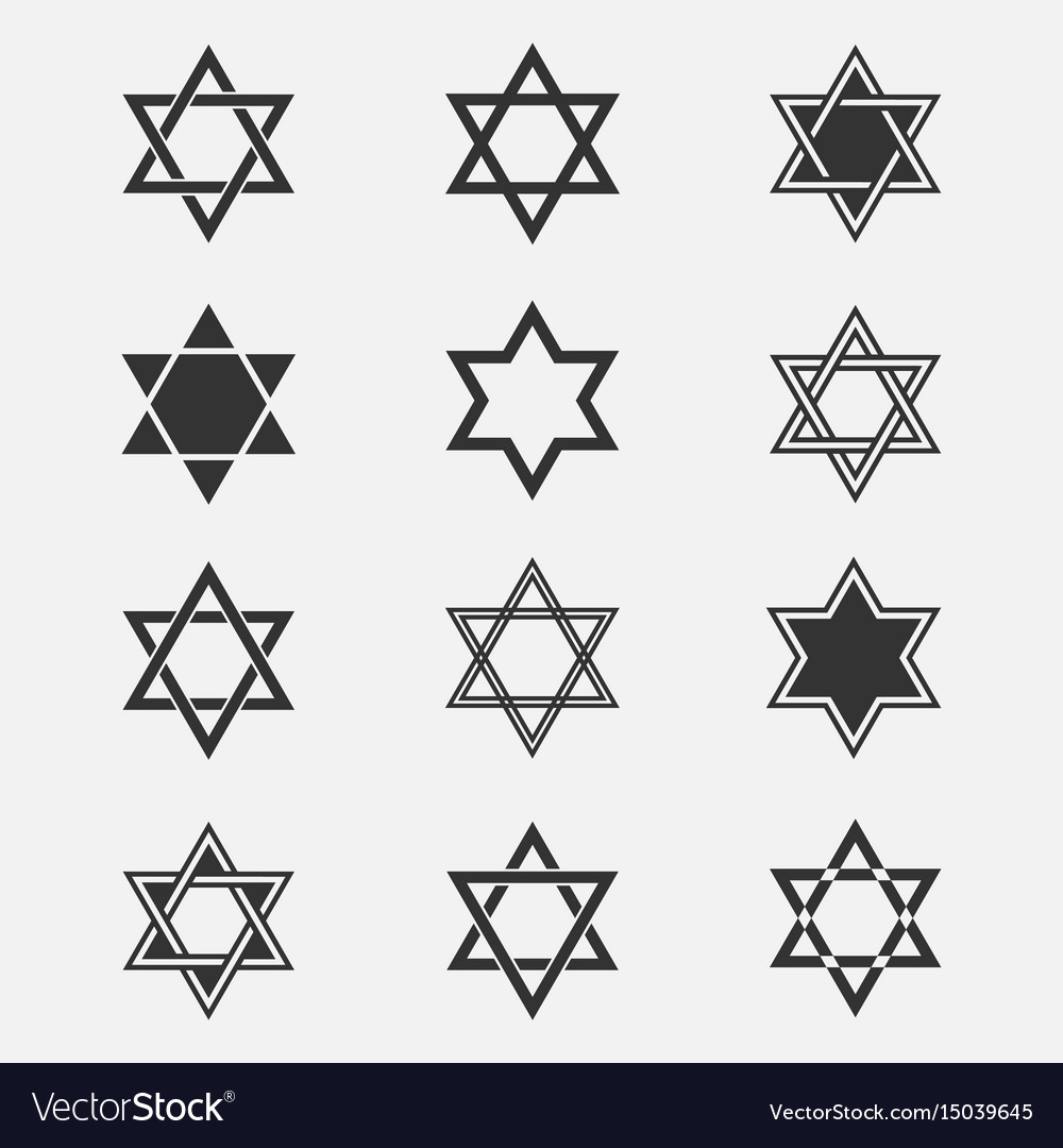 Star of david set