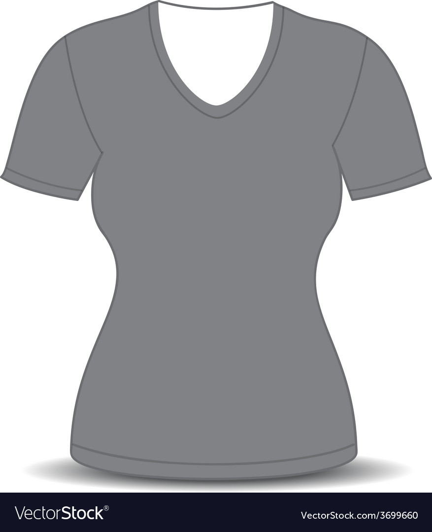 Blank Black T Shirt Template Vector Lauren Goss