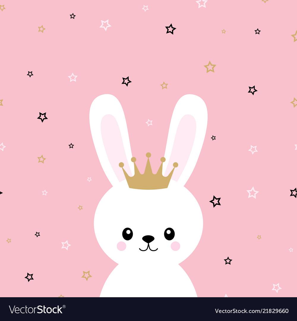 Cute princess bunny