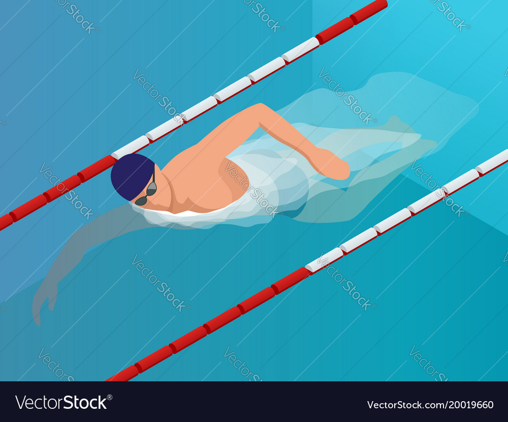 Isometric fit swimmer training in the swimming
