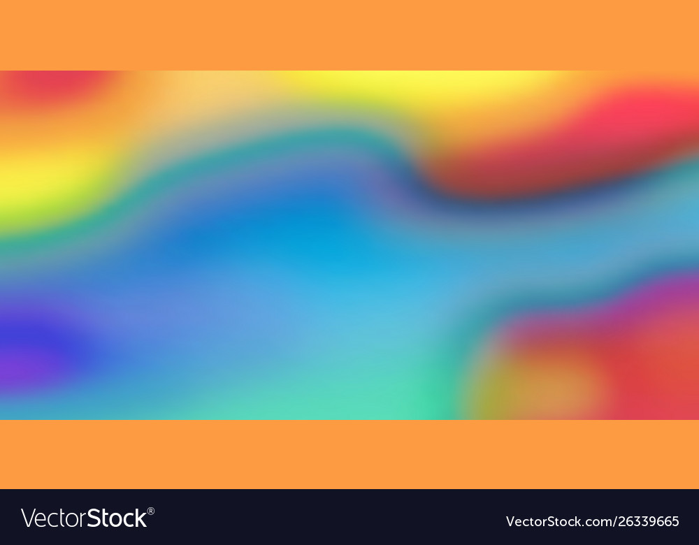 Color blend background holographic iridescent