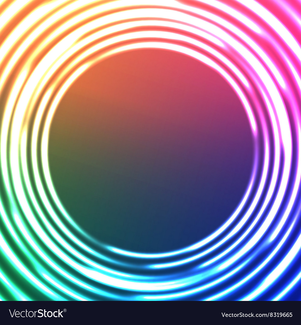 Light Circles Abstract Background Astral