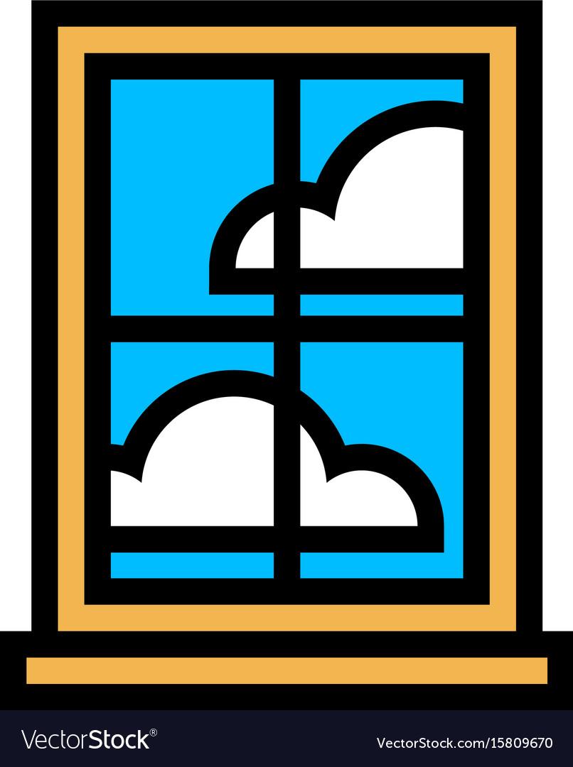 Window frame glass pane