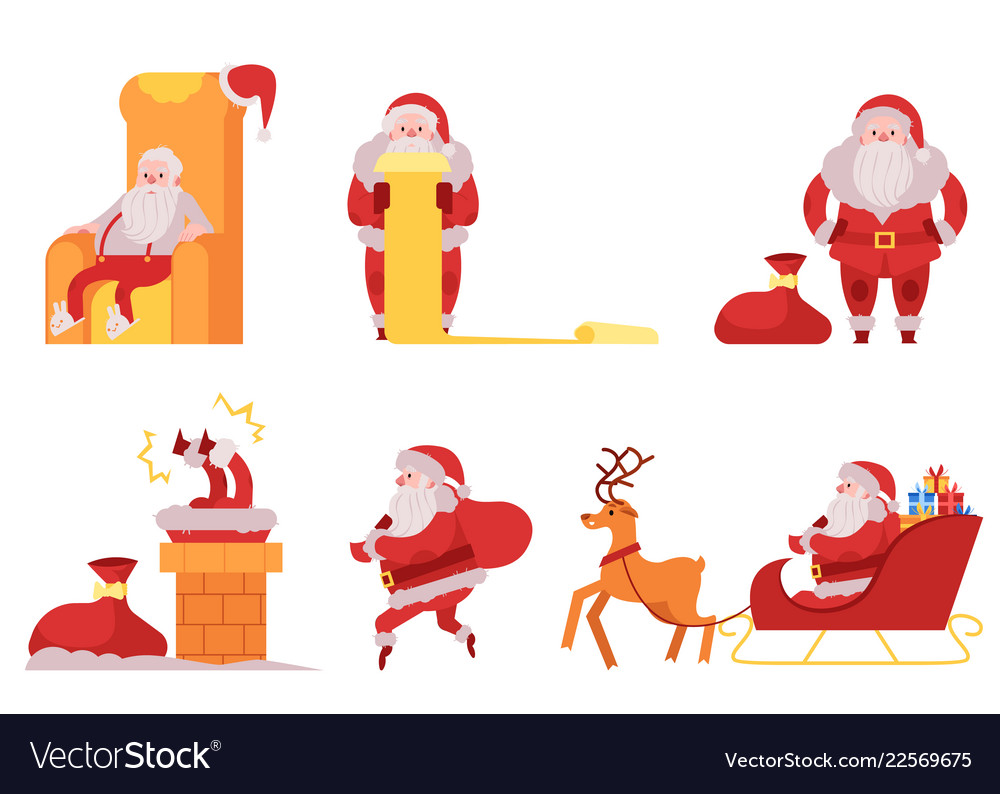 Santa claus set - various