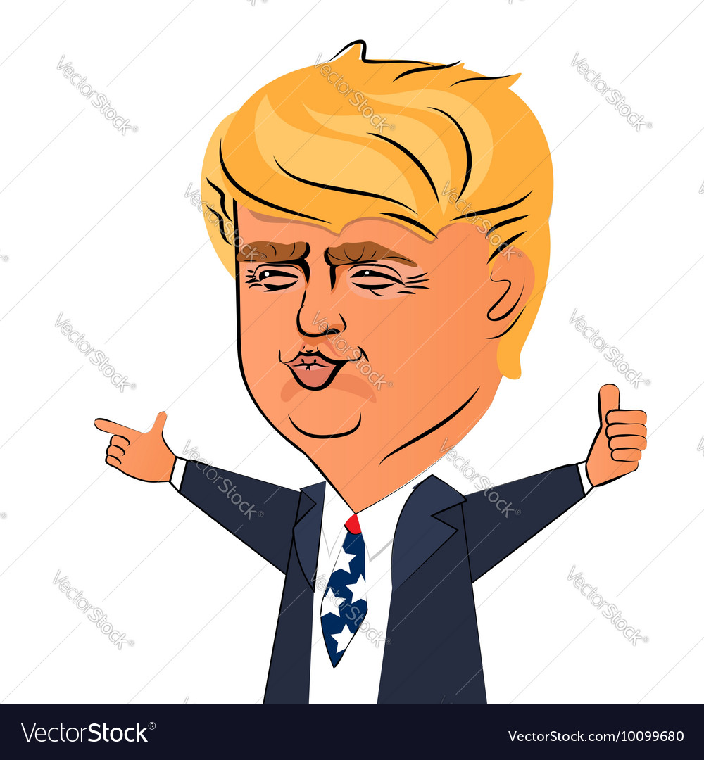 August 03 2016 Donald Trump character