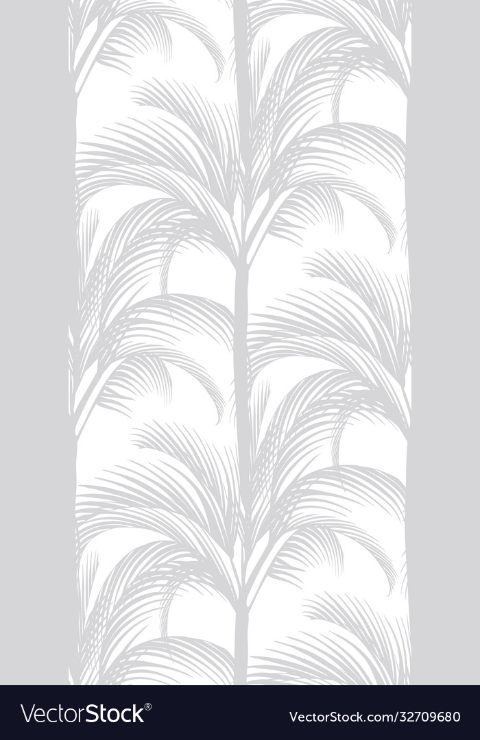 Delicate tropical pattern on a white background