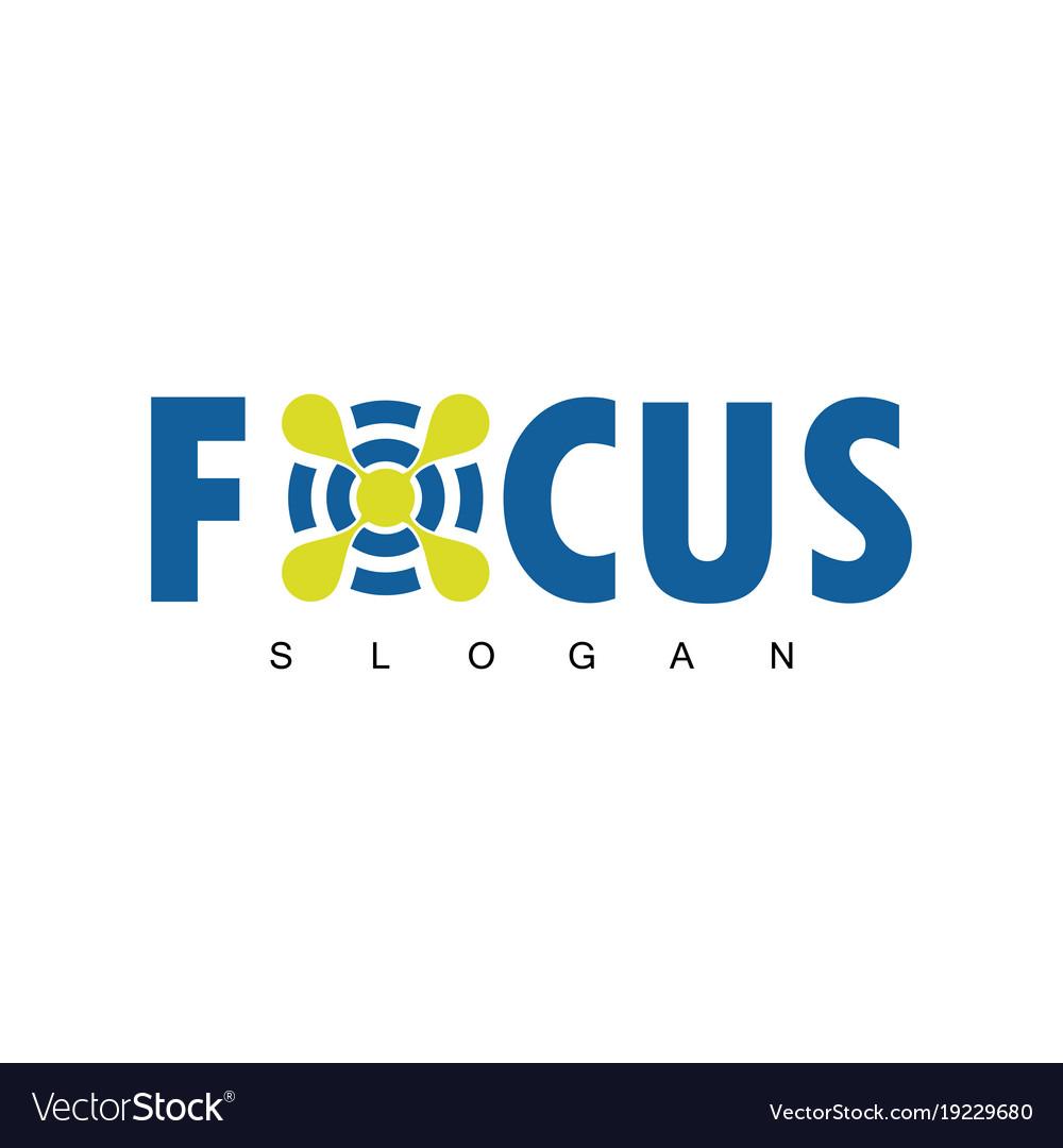 Focus target logo