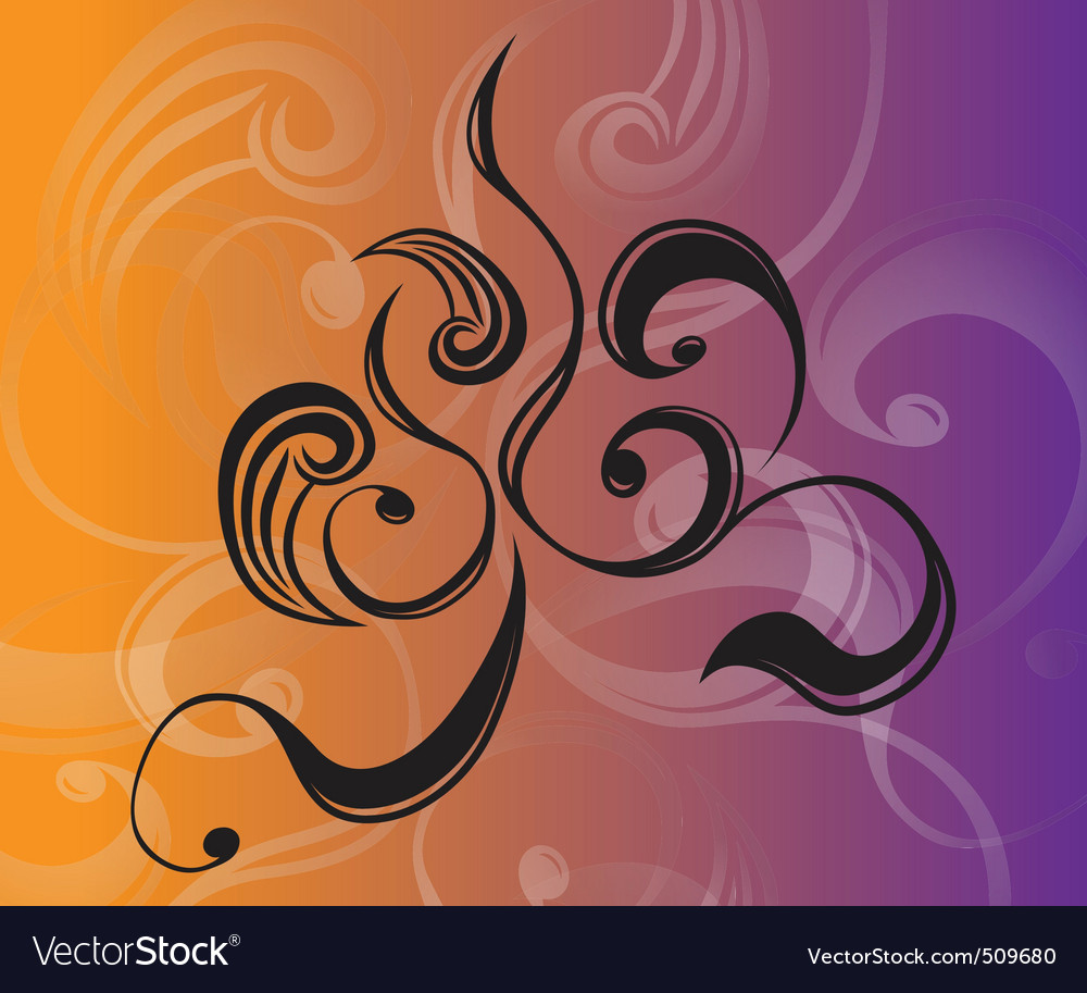 Swirls by gsg vector image