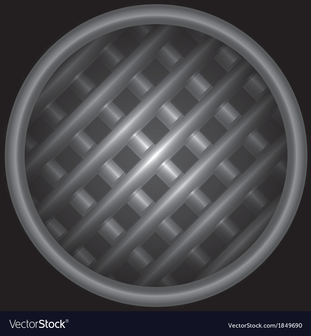 Background with structure from a lattice in tube
