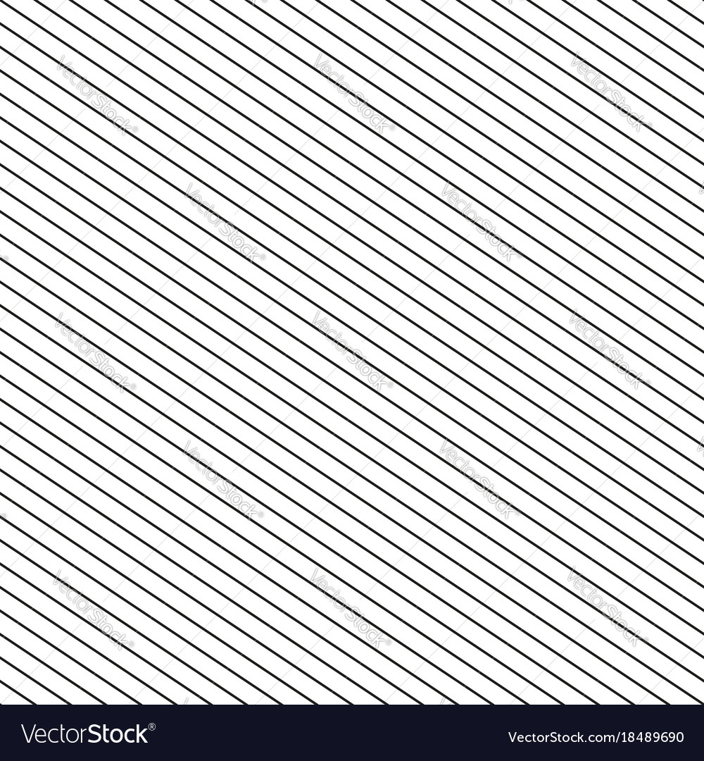 seamless stripes pattern thin diagonal lines vector image