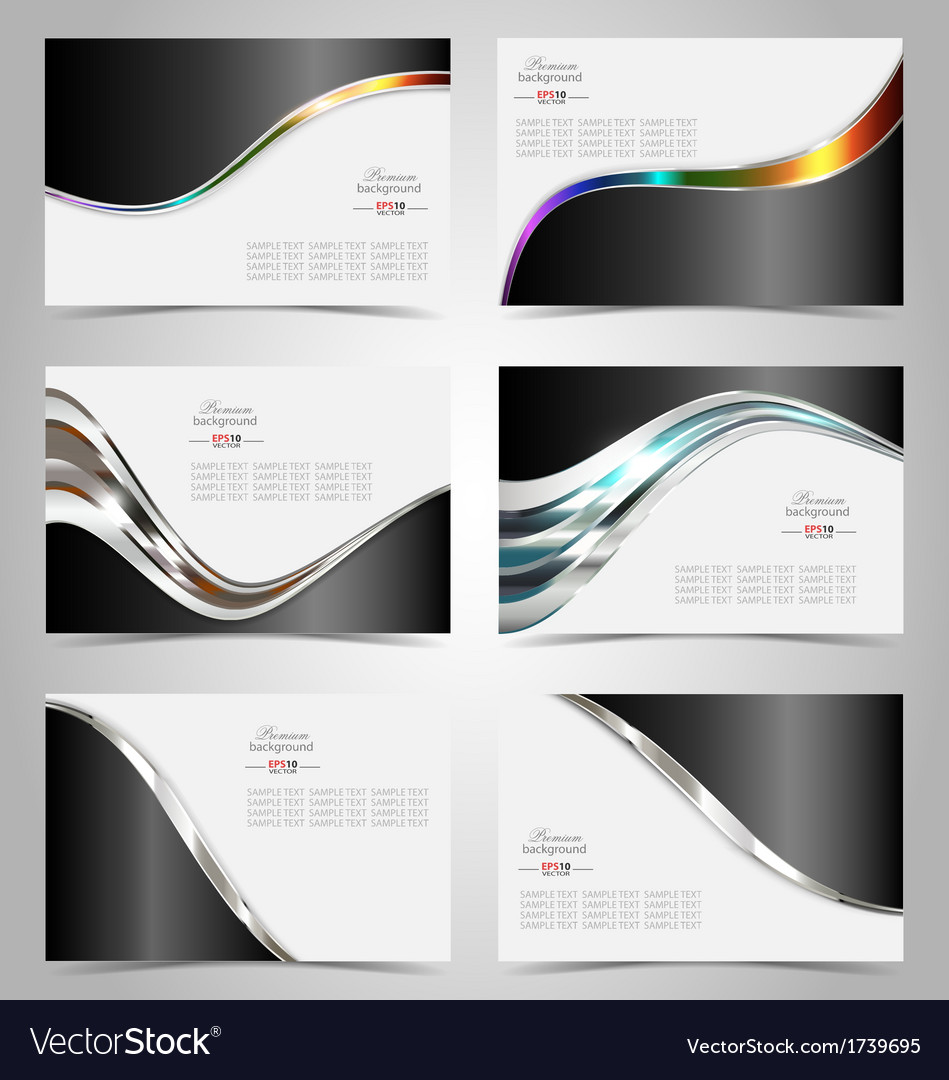 Elegant business card design template royalty free vector elegant business card design template vector image colourmoves