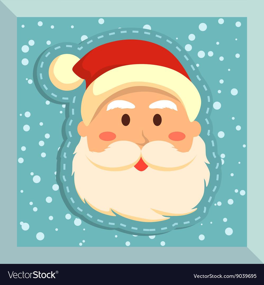 Fullface Santa Blue