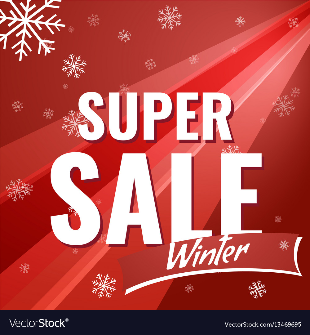 Sale new year poster
