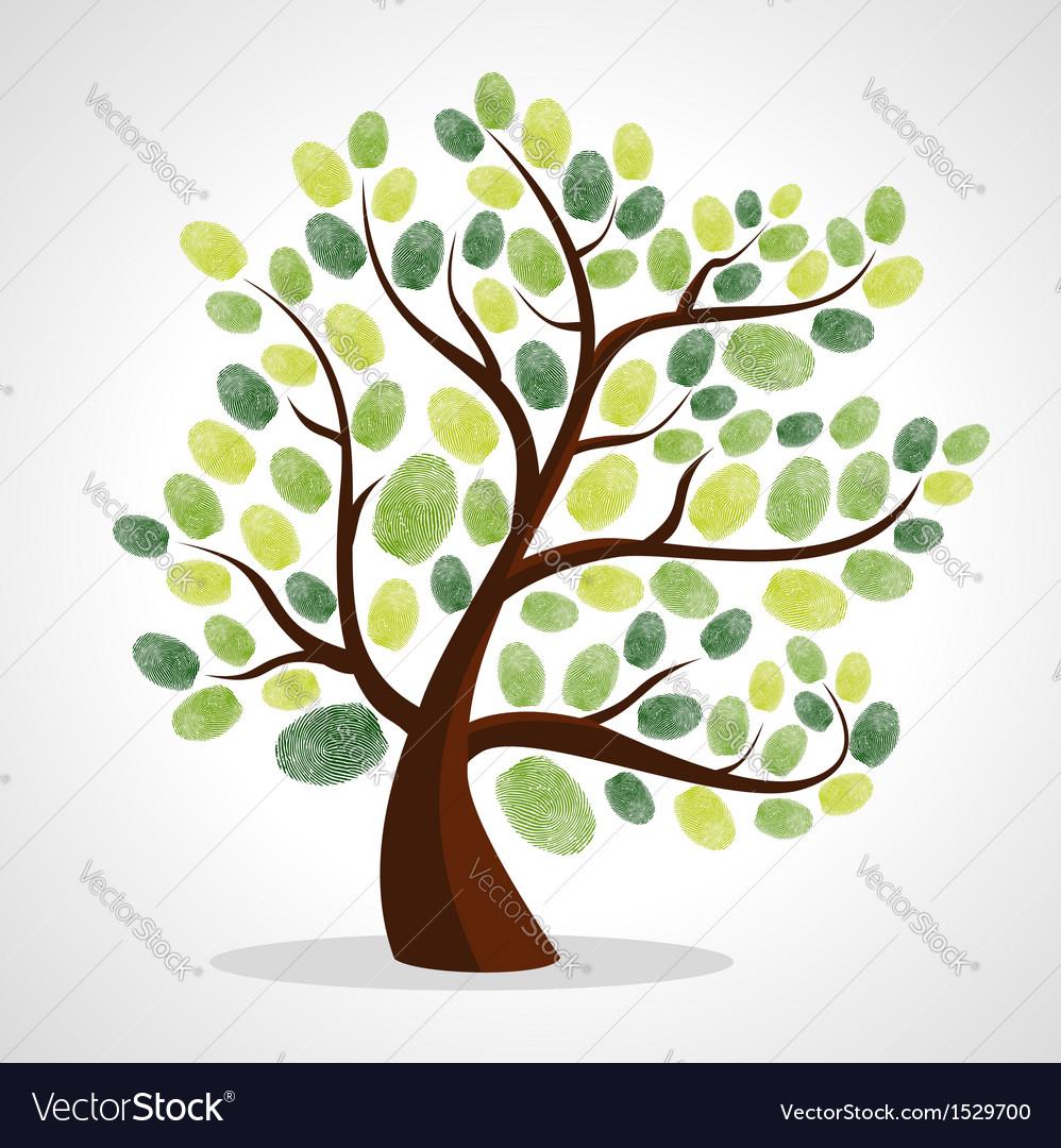 Finger prints tree