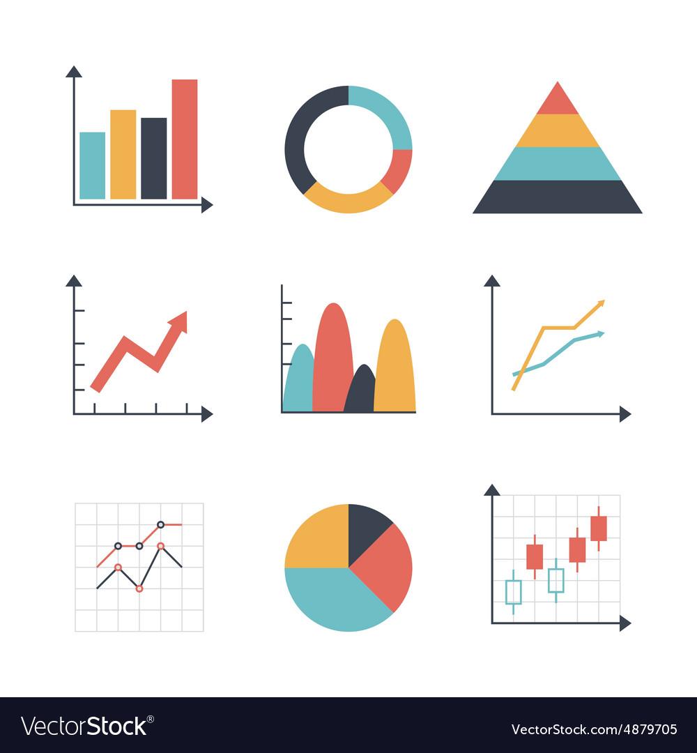 Graph Icon set
