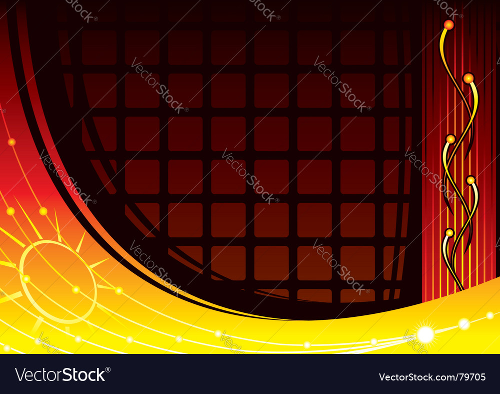 Laboratory background vector image