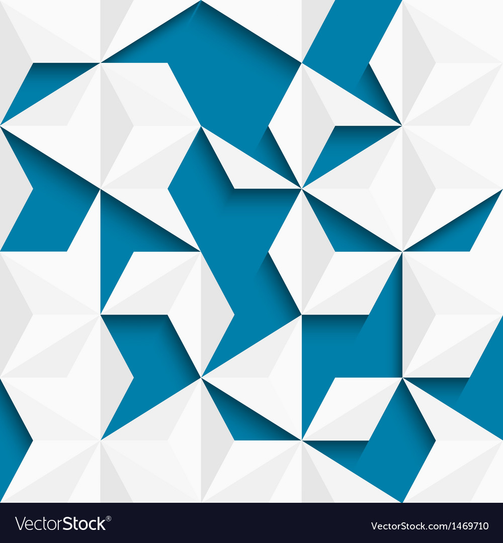 Abstract background of paper triangles