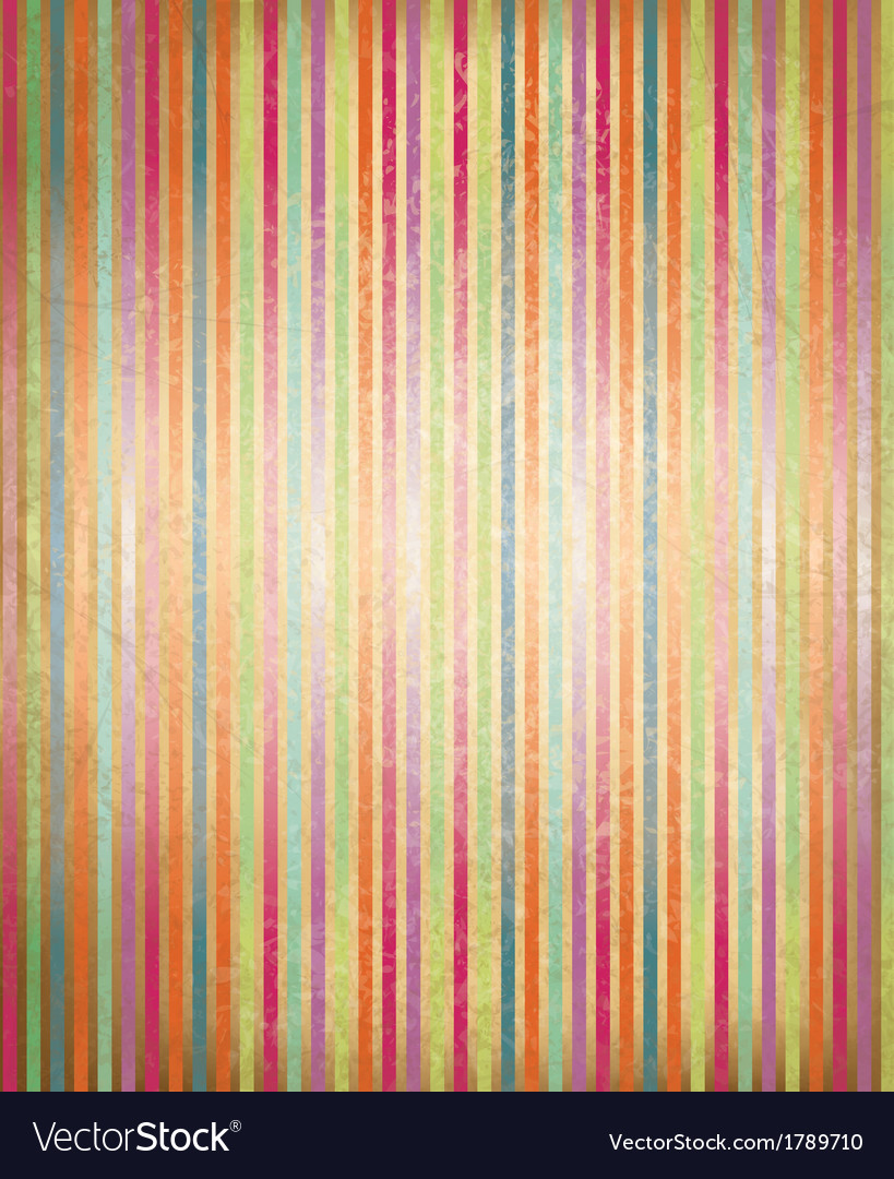 Colorful striped pattern