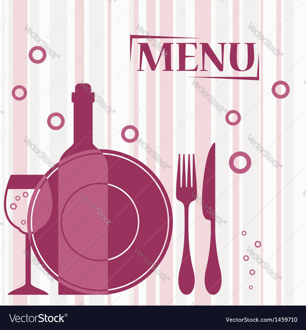 purple background for cafe menu design royalty free vector
