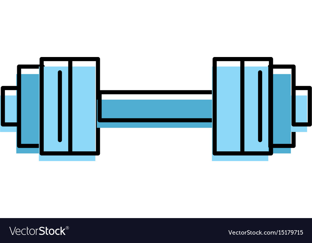Dumbbell instrument to do exercise in the gym