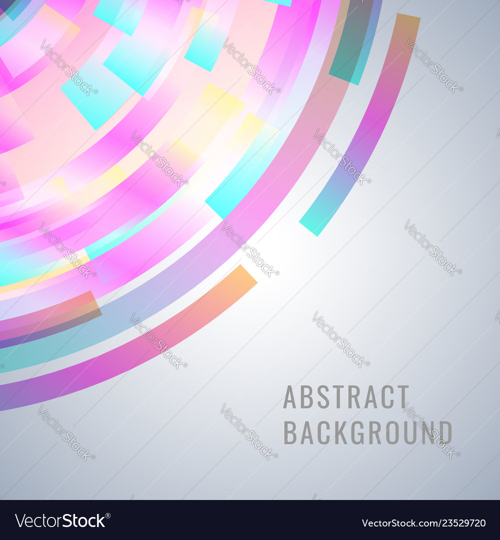 Abstract design with dinamic shapes