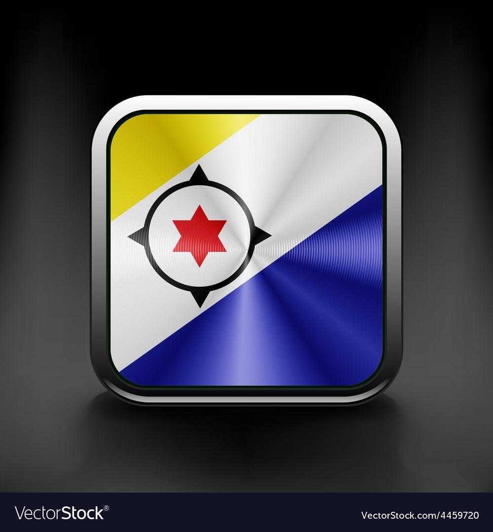 Flag Bonaire flag national travel icon country