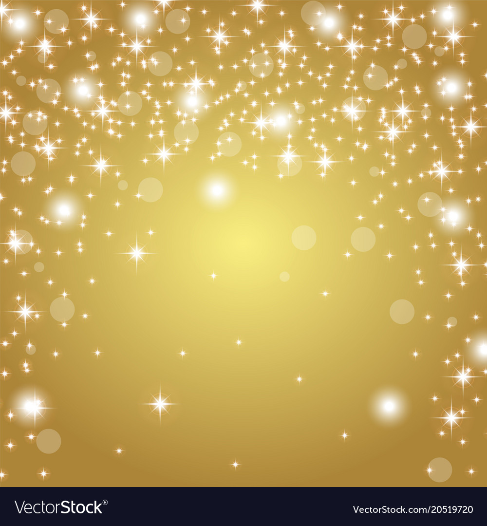 gold background with glitter royalty free vector image