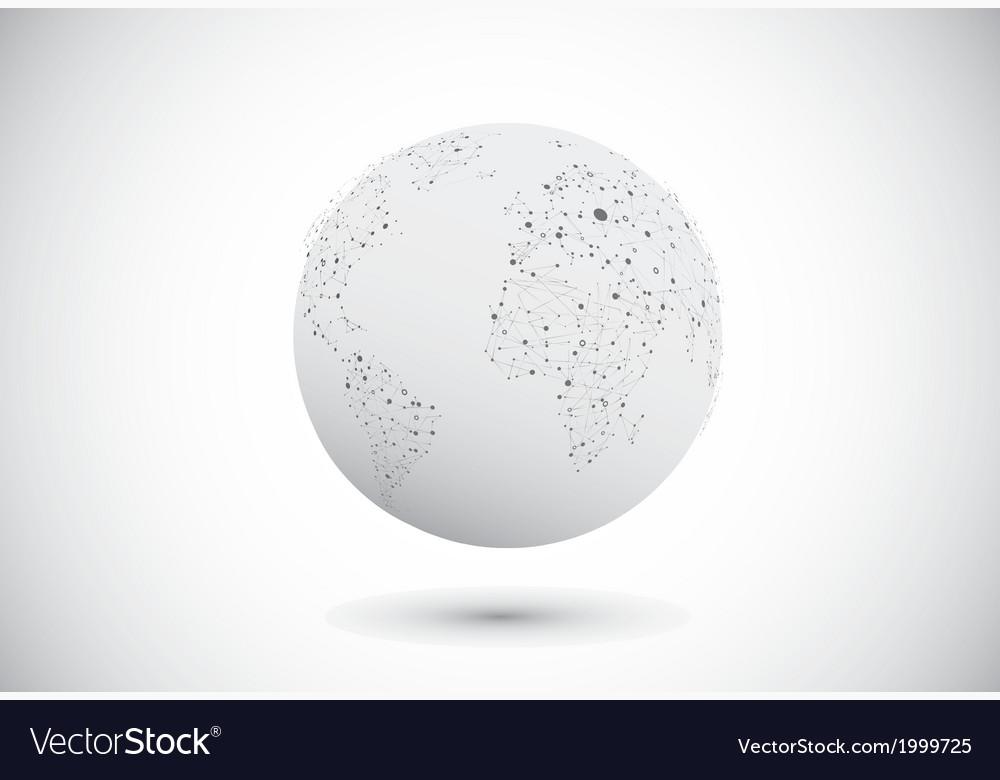 Modern globe connections network design