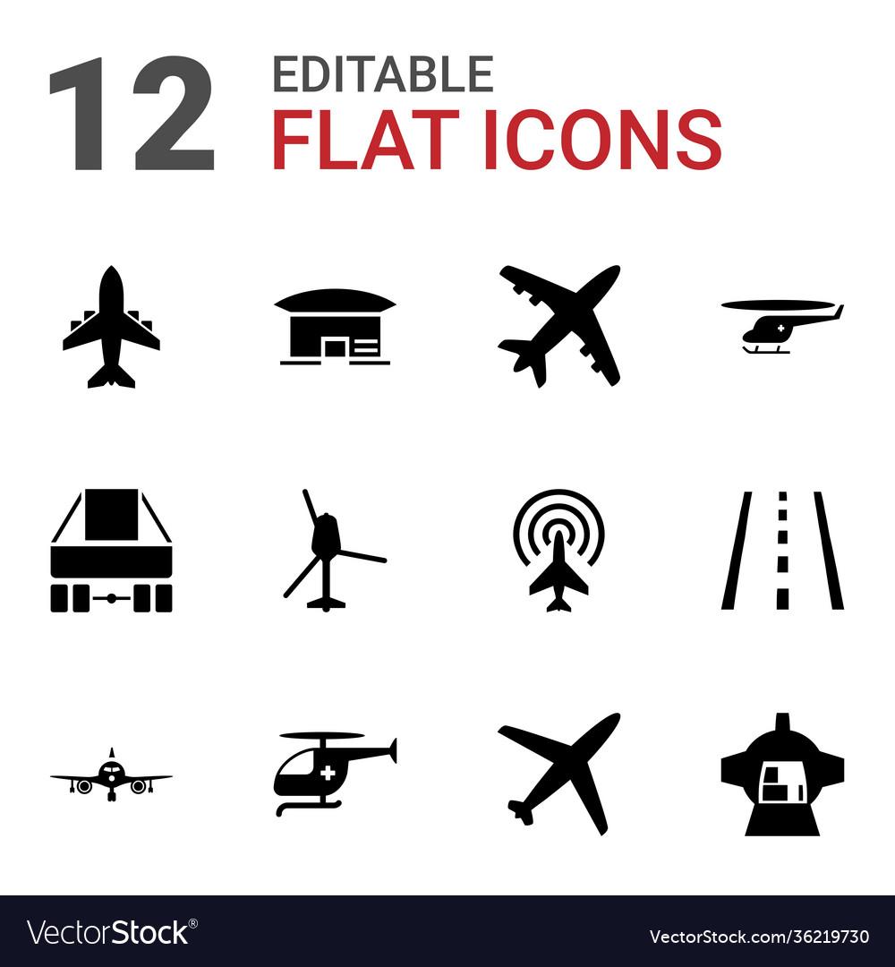 12 jet icons