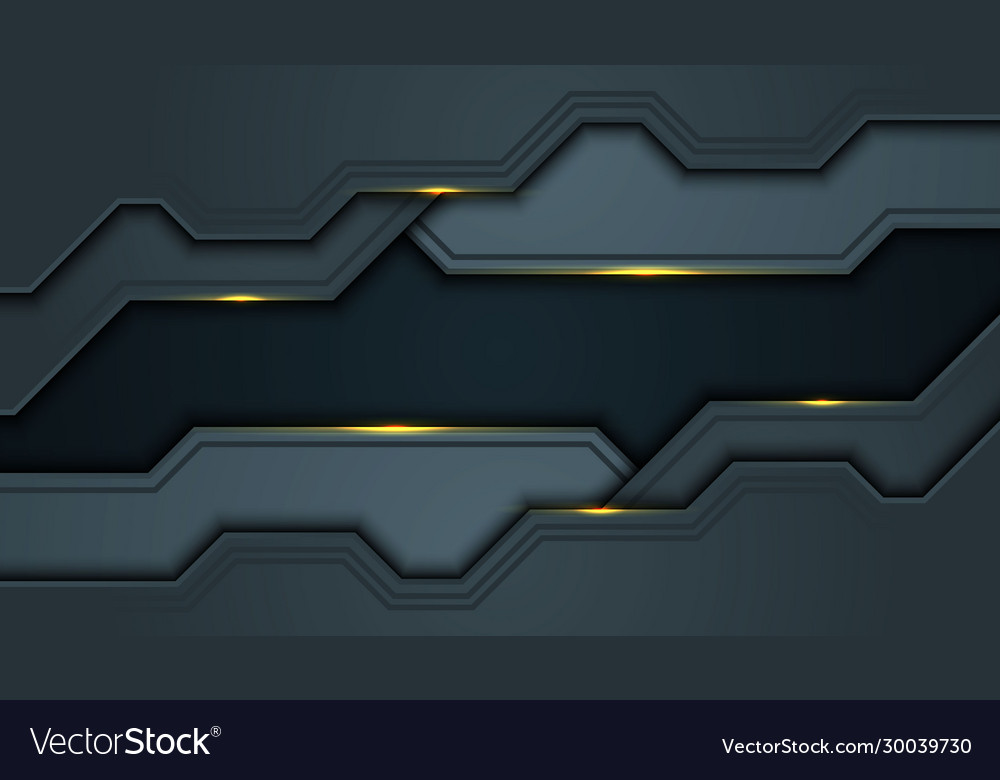 Dark abstract background with black overlap