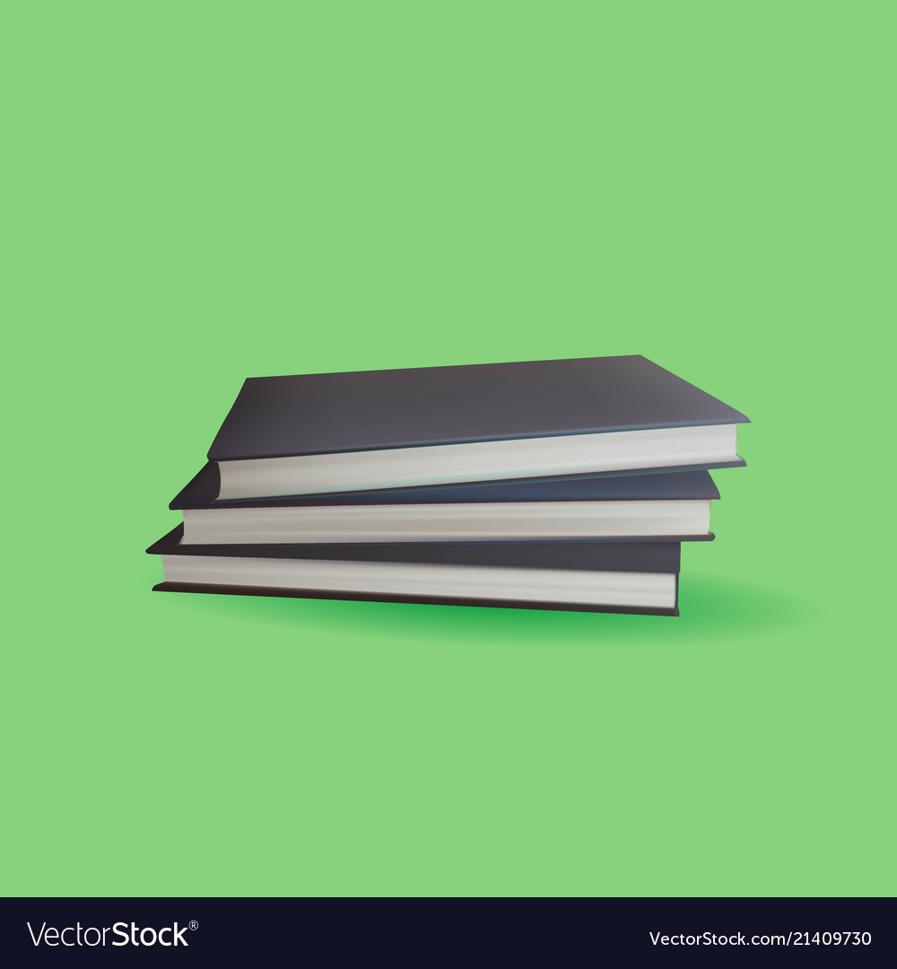 Encyclopedia book with green background