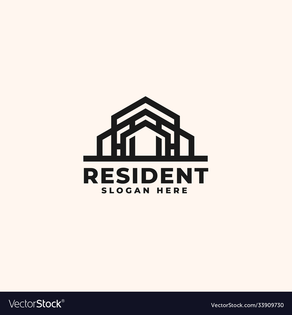 Real estate logo design template - good to use