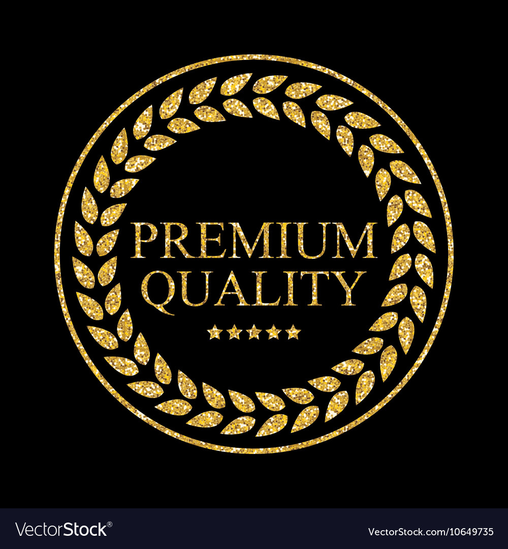 Art Golden Medal Icon Sign Premium Quality