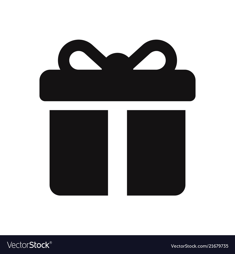 Gift icon Royalty Free Vector Image VectorStock