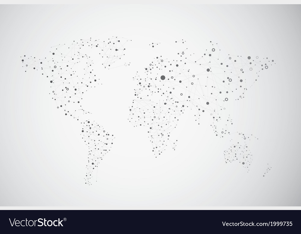 Global connection of cells