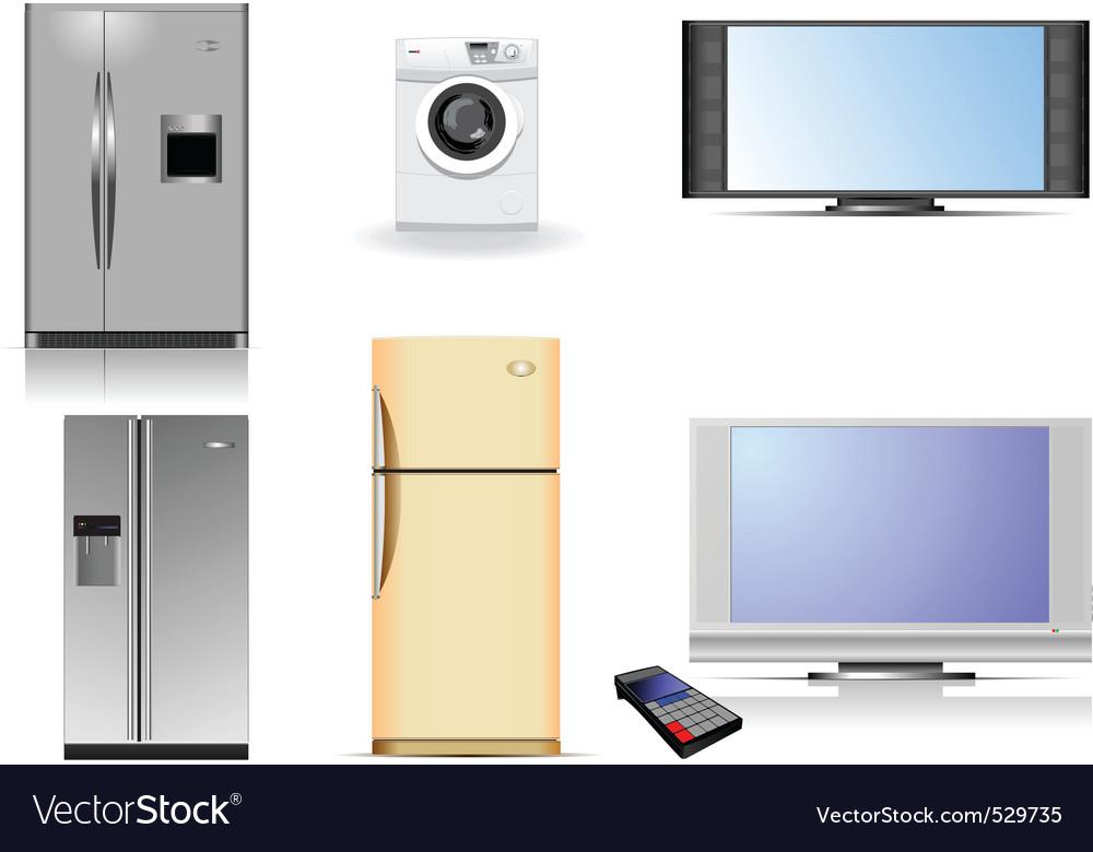 Housing equipment vector image