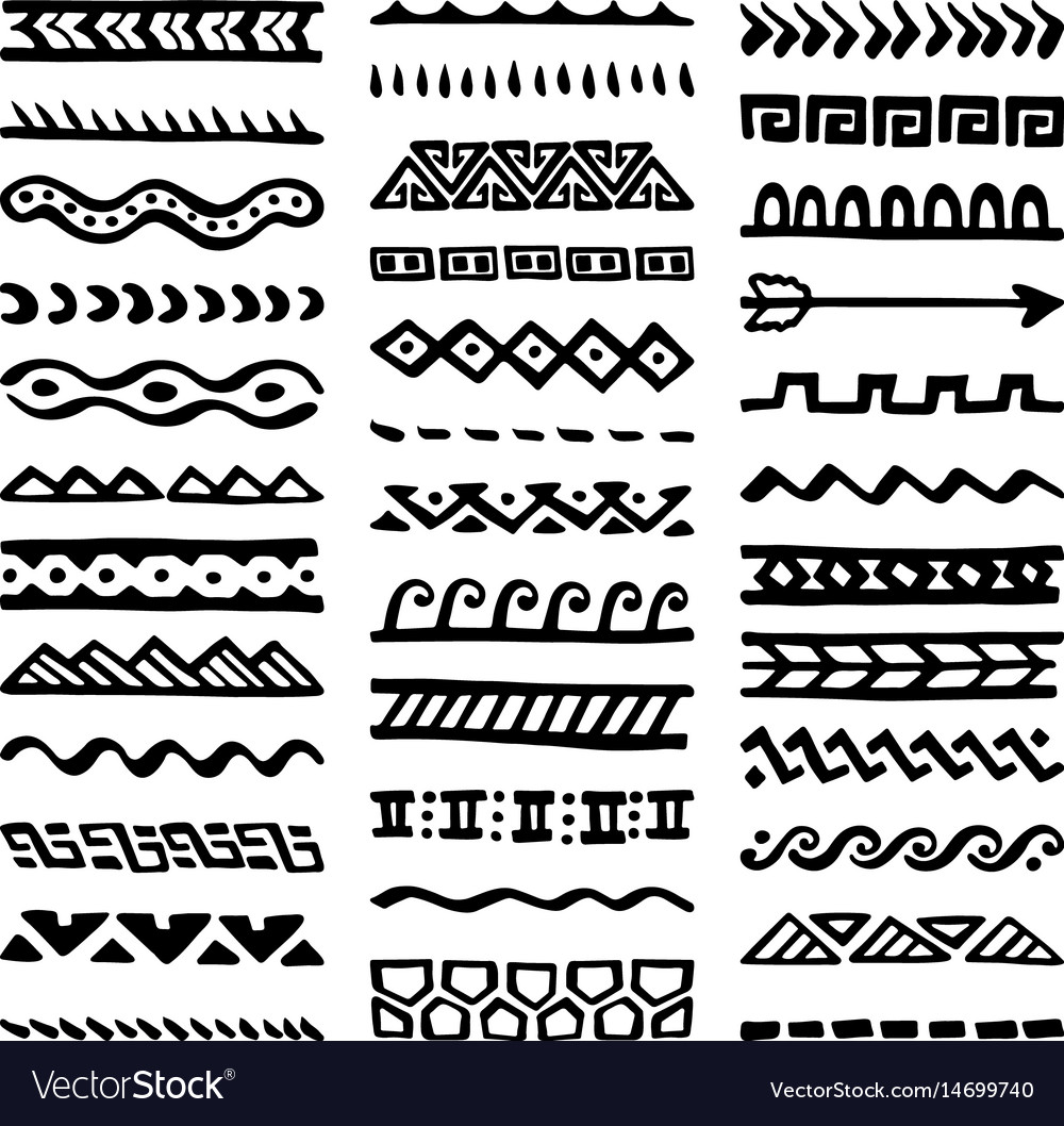 Borders collection in ethnic style