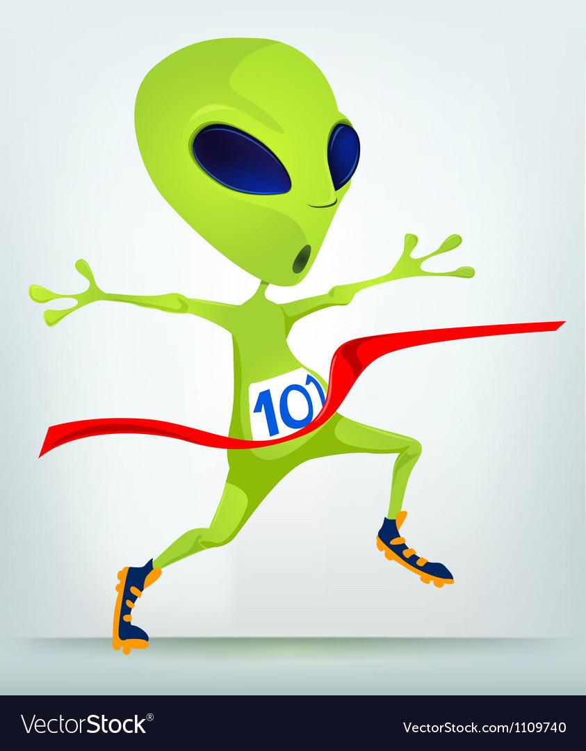 Cartoon Character Athletes vector image