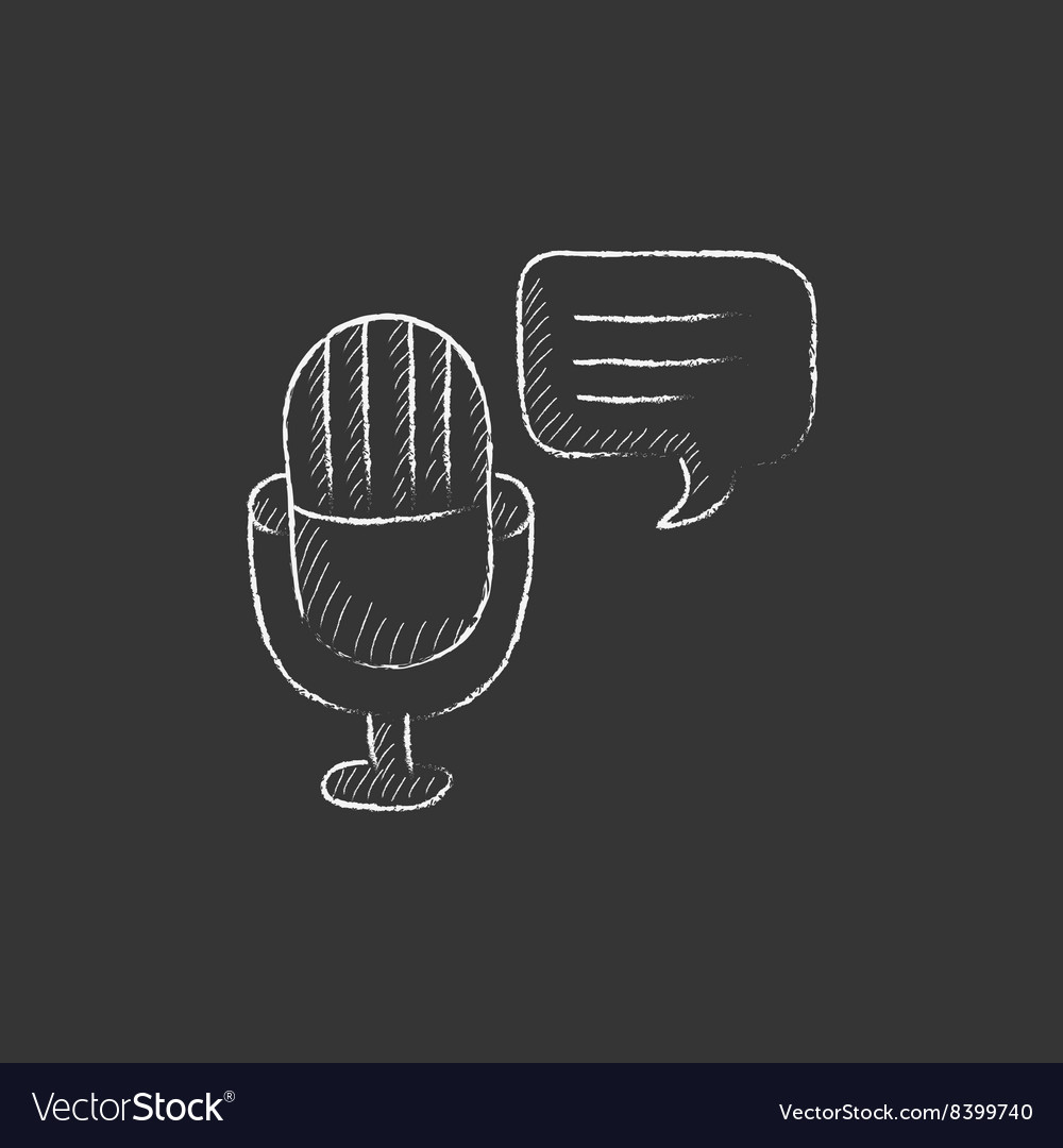 Chalk Microphone Vector Images 54 Diagram Symbools Of