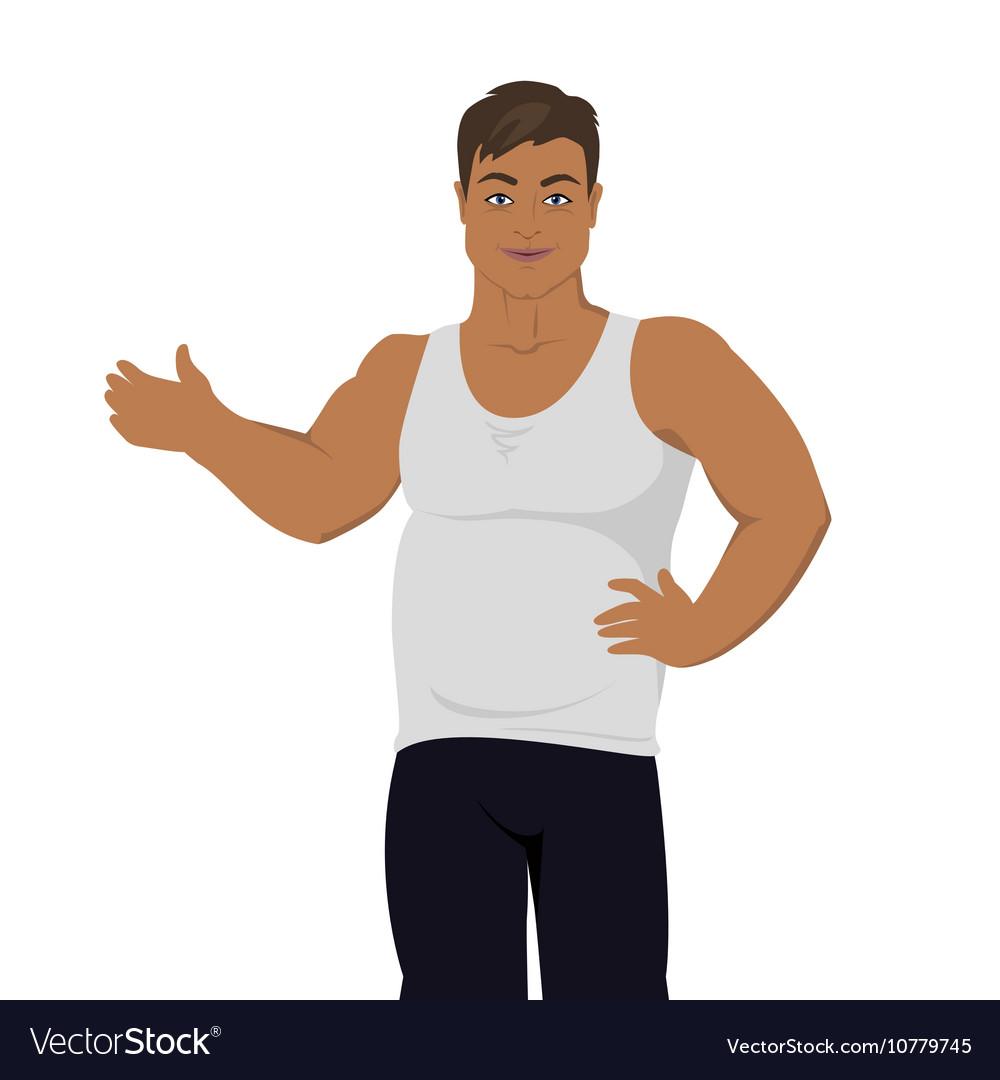 Junk Food Consumption Man Before Weight Loss