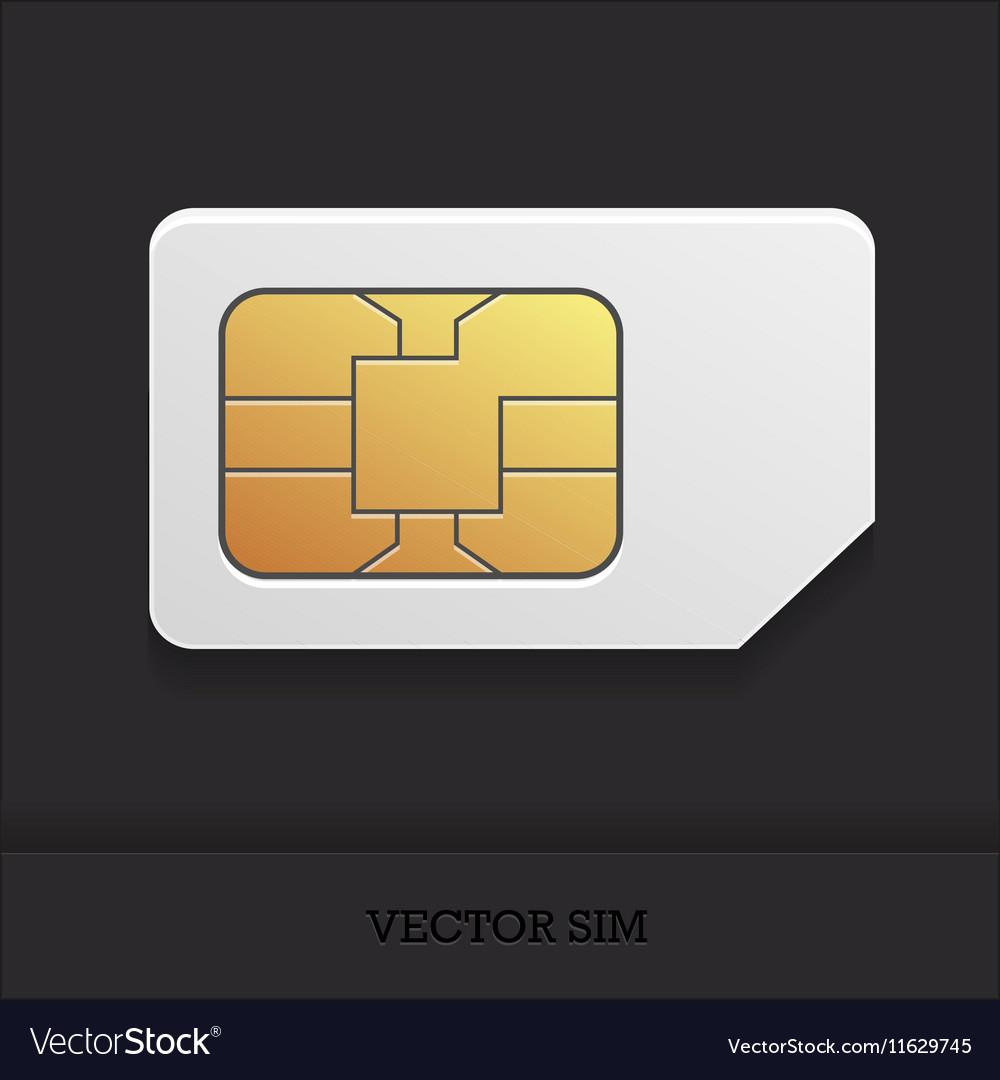 Realistic sim card