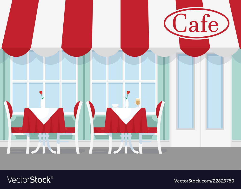 Cafe or restaurant table