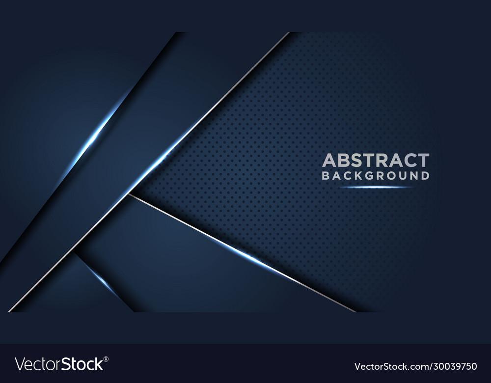 Dark abstract background with dark blue overlap