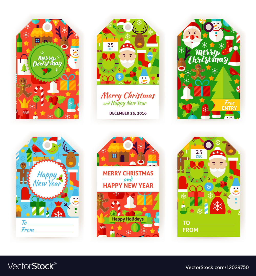 Merry Christmas Labels.Merry Christmas Gift Tag Labels