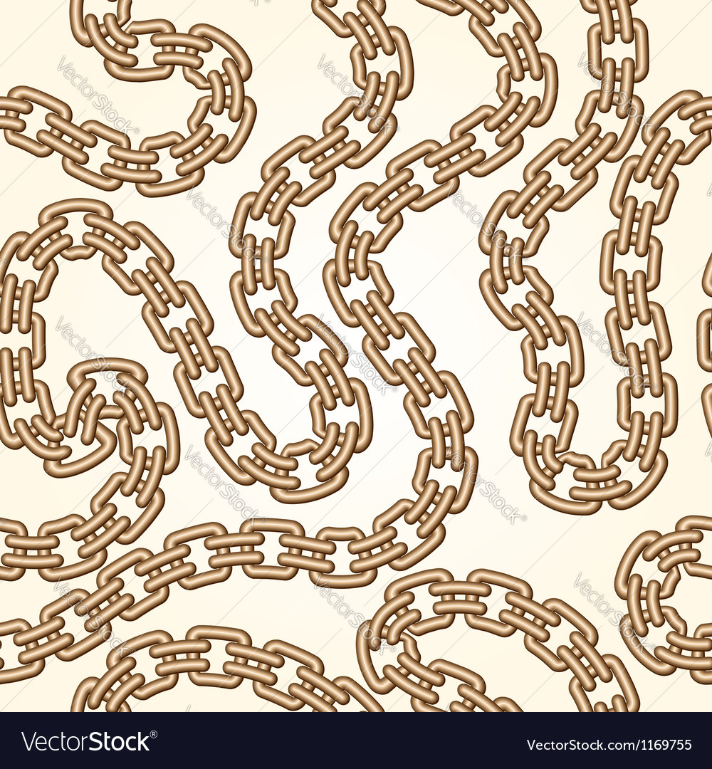 Gold chains pattern